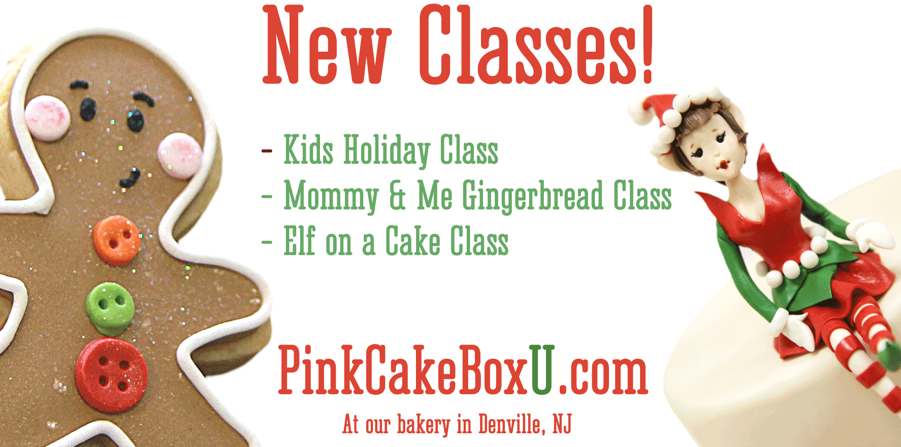 Cake, Cookie and Cupcake Decorating Classes in NJ