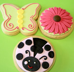 Cookies 101– Decorating with Fondant/Piping/Flooding