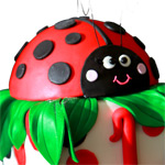"Kids ""Love Bug"" Cake Class!"