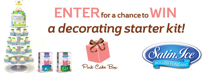Cake Decorating Starter Kit Giveaway
