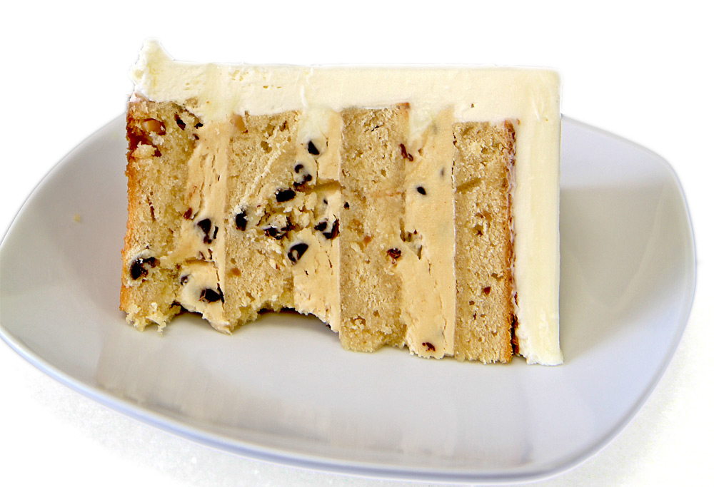 Peanut Butter Layer Cake with Chunky Peanut Butter Chip Filling ...