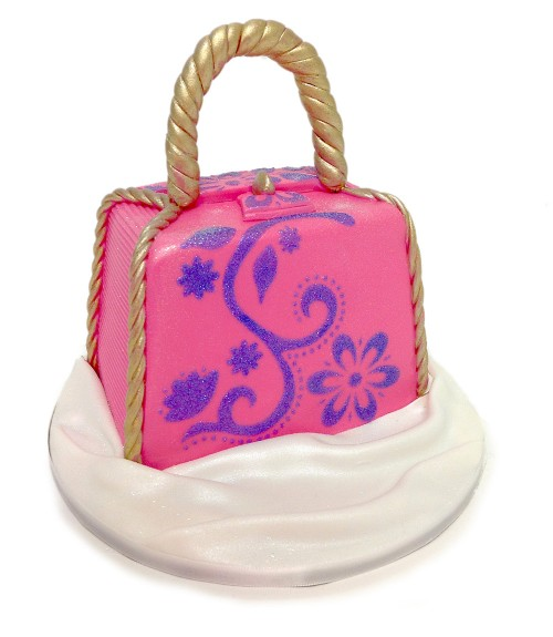 Purse cake from Advanced Fondant Techniques Class