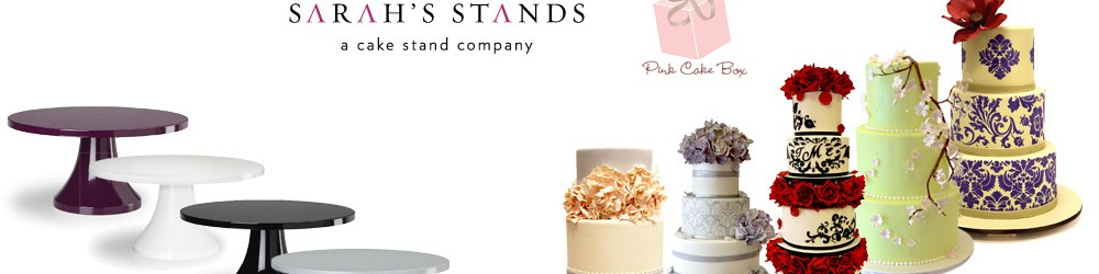 Giveaway Cake Stand and DVDs