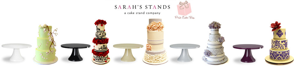 Cake Stand and DVD Giveaway Pink Cake Box