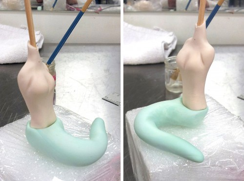 Mermaid Gum Paste Tails