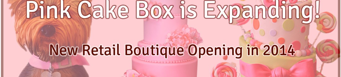 Pink Cake Box is Expanding