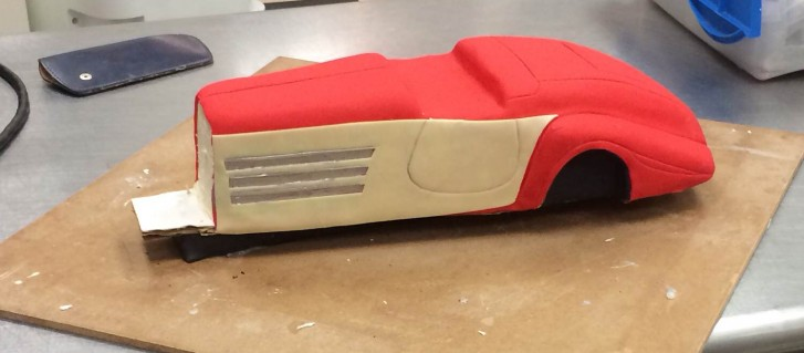 Body of Classic Car Cake