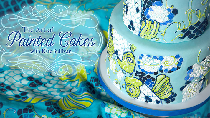 Cake Art Classes : Cake Class Review: Painted Cakes on Craftsy {How To}
