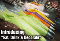Eat, Drink & Decorate Cookie Class