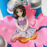 How to create a princess modeling chocolate figure