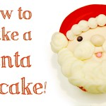 How to make a Santa Cupcake!
