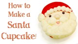How to make a Santa Cupcake!