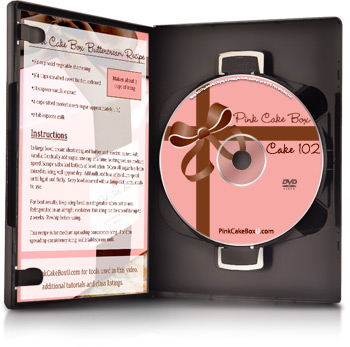 Cake 102 Decorating DVD