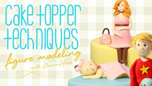 Cake Topper Figure Techniques Class