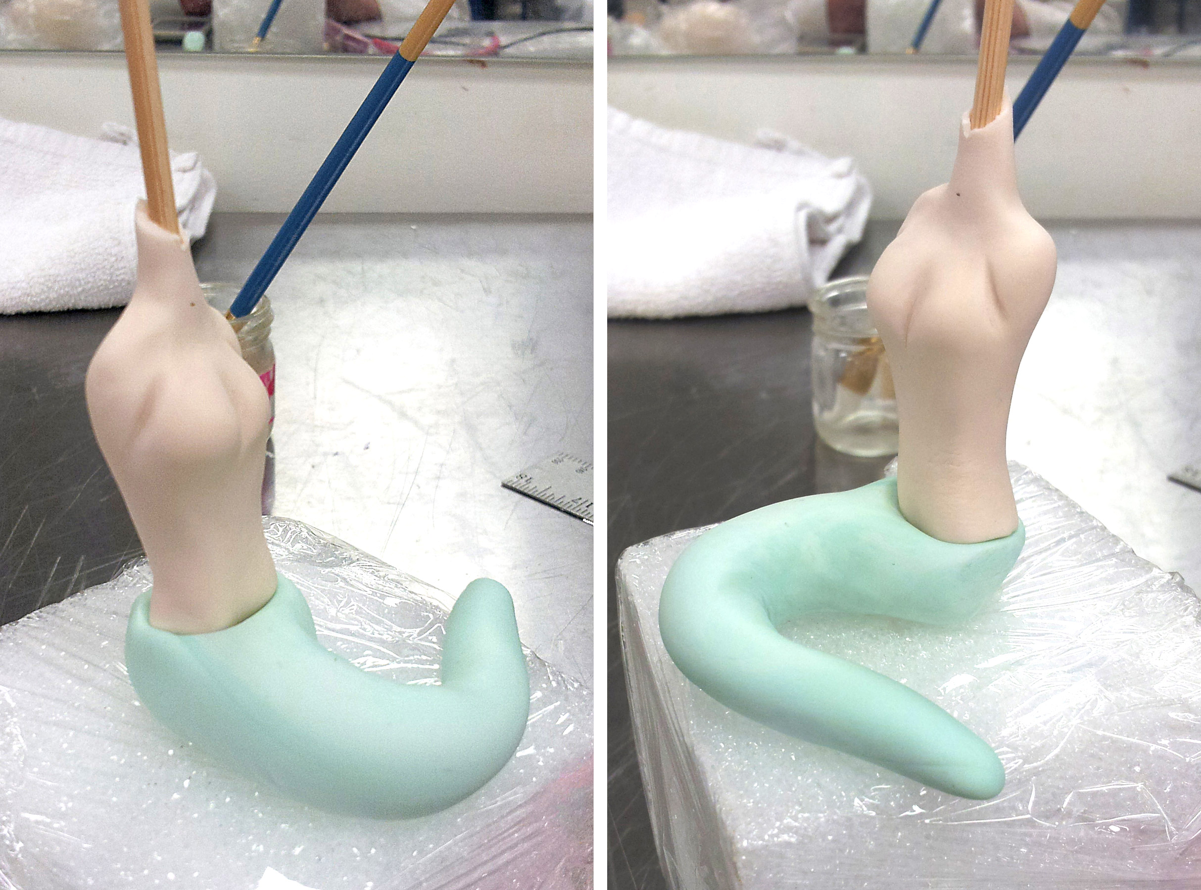 How To Make A Mermaid Tail Cake Topper