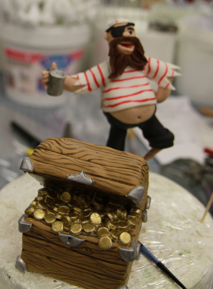 How To Create A Nautical Themed Pirate Cake Topper