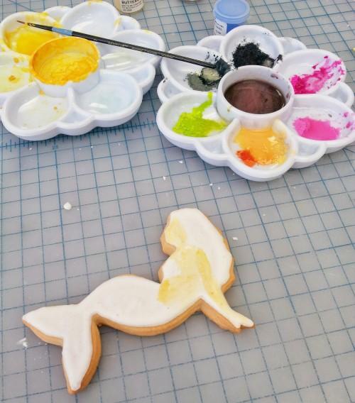 Mermaid Cookie Painting Tutorial