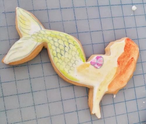 Mermaid Cookie How To Step L