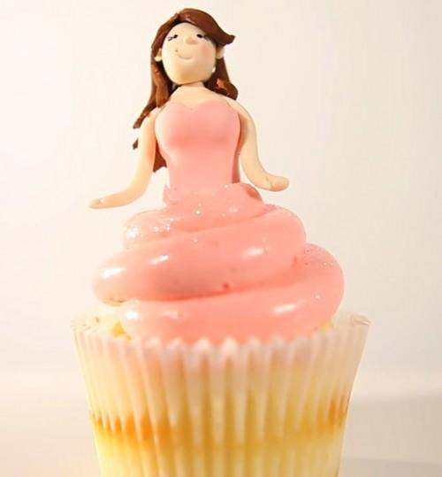 Princess Cupcake Final Product