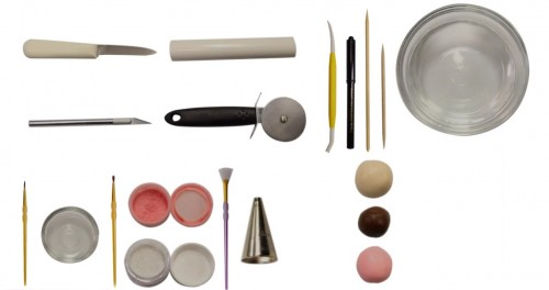 Tools needed for Princess Cupcake Topper