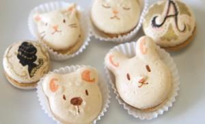 Macaron Decorative Bunnies