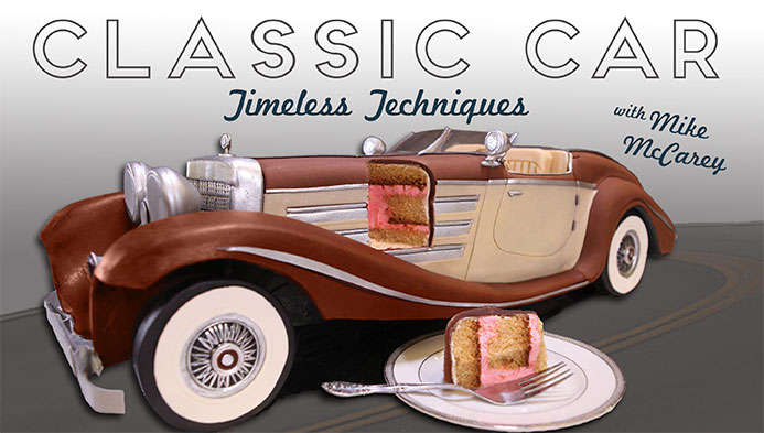 Classic Car Chocolate Molds
