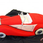 3d Sculpted Car Cake