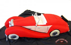 3d Sculpted Car Cake