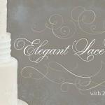 Elegant Lace Cakes Tutorial