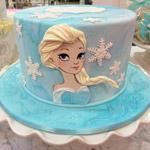 Ice Princess Cake