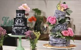 Rustic and Chalk Cake Class