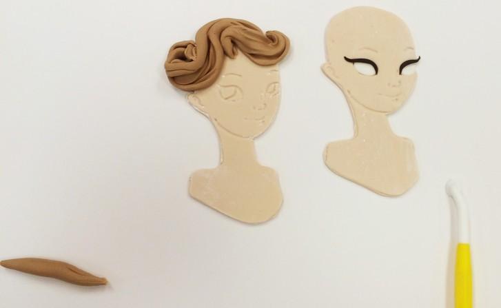 Styling Princess Hair