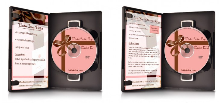 Instructional Cake Decorating DVDs