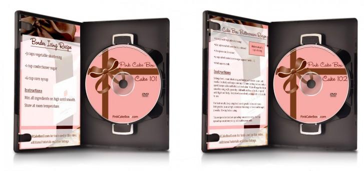 Instructional Cake Decorating DVDs