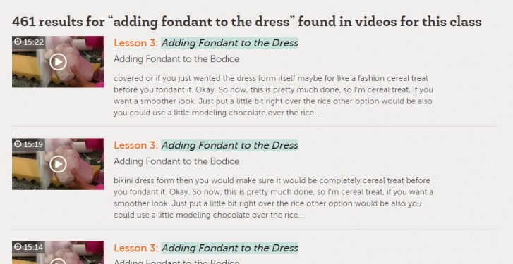 Search Results - Adding Fondant to Dress