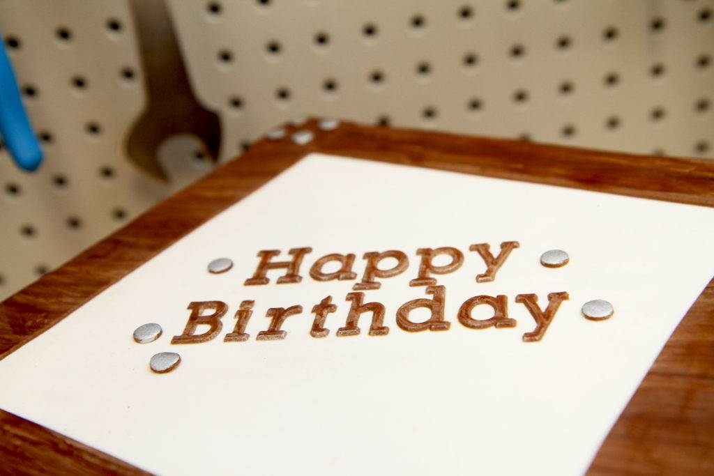 Happy Birthday Letter Molds